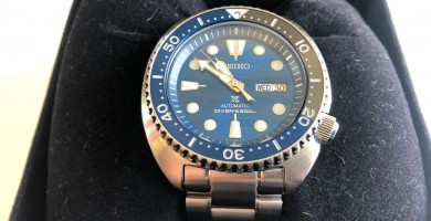 Seiko Turtle Save the Ocean SRPD21K1